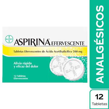 Aspirina Efe. 500mg Tab.