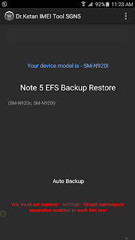 IMEI(EFS) Tool N5 S6 E+ [Root]