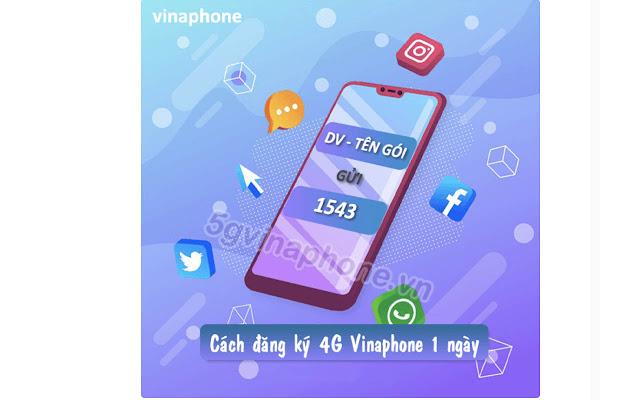 Đăng ký gói 4G Vina 1 ngày- 5GVinaPhone.vn