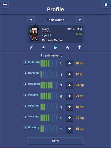 Hoop League Tactics 1.6.4 screenshots 24