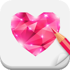 Draw Jewels Step By Step icon