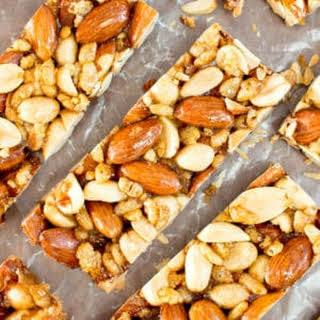 5 Ingredient Homemade KIND Nut Bars (Vegan, Gluten-Free, Dairy-Free, Refined Sugar Free).