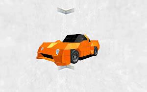 Sport Car Orange