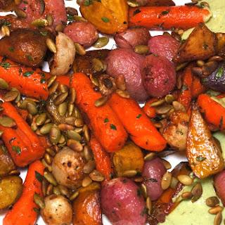Roasted Radishes & Root Vegetables