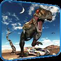 Car Racing in Dinos icon