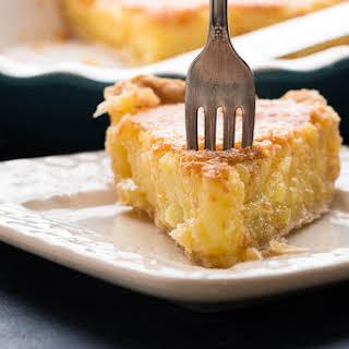 Lemon Chess Pie.