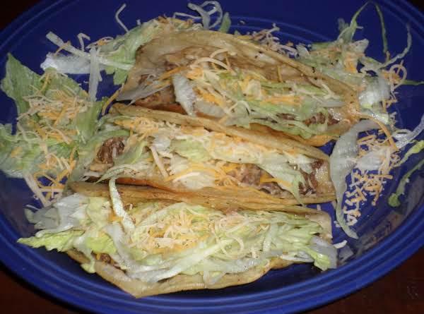 Renee's Best Ground Beef Tacos Ever! Recipe