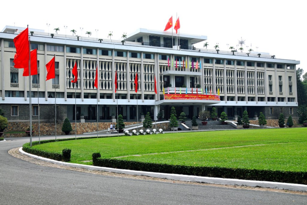 Independence Palace in Ho Chi Minh City, Vietnam