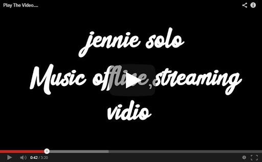 JENNIE - 'SOLO' M/V (BLACKPINK) Lyrics 1.0.0.8 screenshots 1