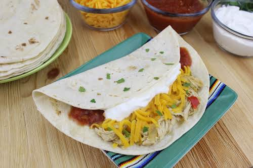 """Crock Pot Chicken Fajitas""""Quick, easy, and everyone in the house loves it.""""..."""