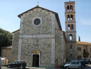 Photo: La chiesa in saturnia