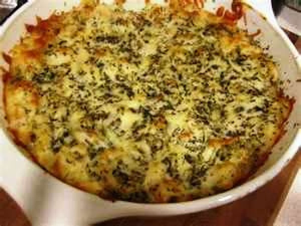 If serving in individual ramekins, you can top crab mixture with additional Swiss cheese...