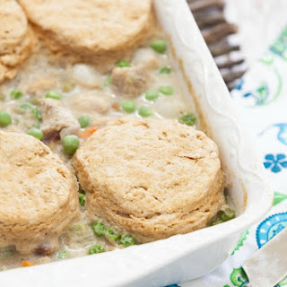 Chicken and Whole Wheat Biscuits Casserole
