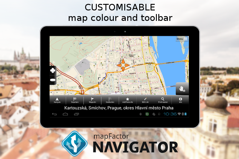 MapFactor GPS Navigation Maps- screenshot