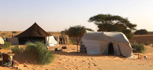 Travel Horror Stories: When Travel Goes Wrong // Nomad Camp near Chinguetti in Mauritania Photo Trina Marie Phillips