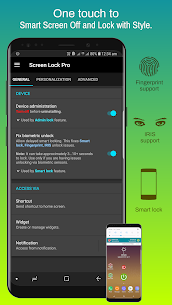 Screen Lock : Pro screen off and lock app v4.6p [Patched] APK 1