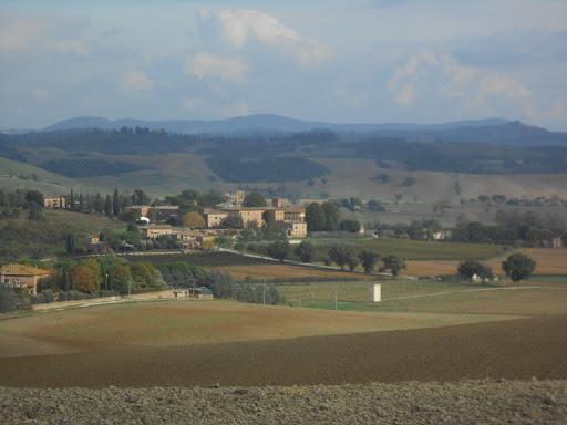 Paysage toscan - Via Francigena 2015