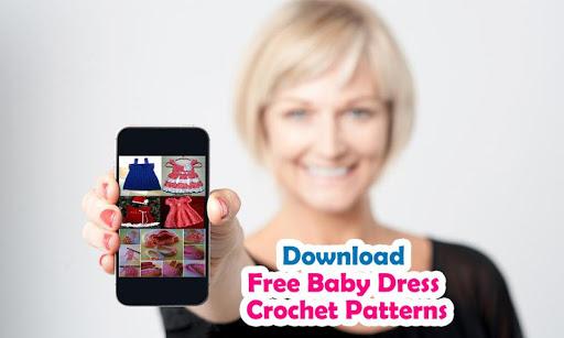 Crochet Pattern Baby Dress NEW