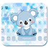 Cartoon Koala Keyboard Theme