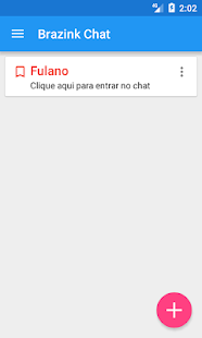 Brazink Chat - náhled