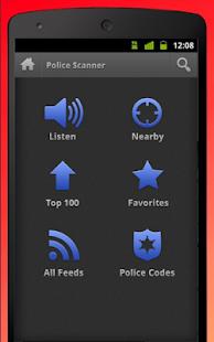 Free Police Radar Scanner - náhled