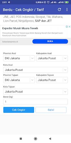 Wahana Cek Tarif : wahana, tarif, Download, Berdu, Ongkir, Tarif, Latest, Version, Studio, Android, Devices