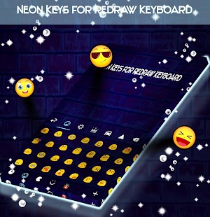 Neon Keys for Redraw Keyboard - náhled