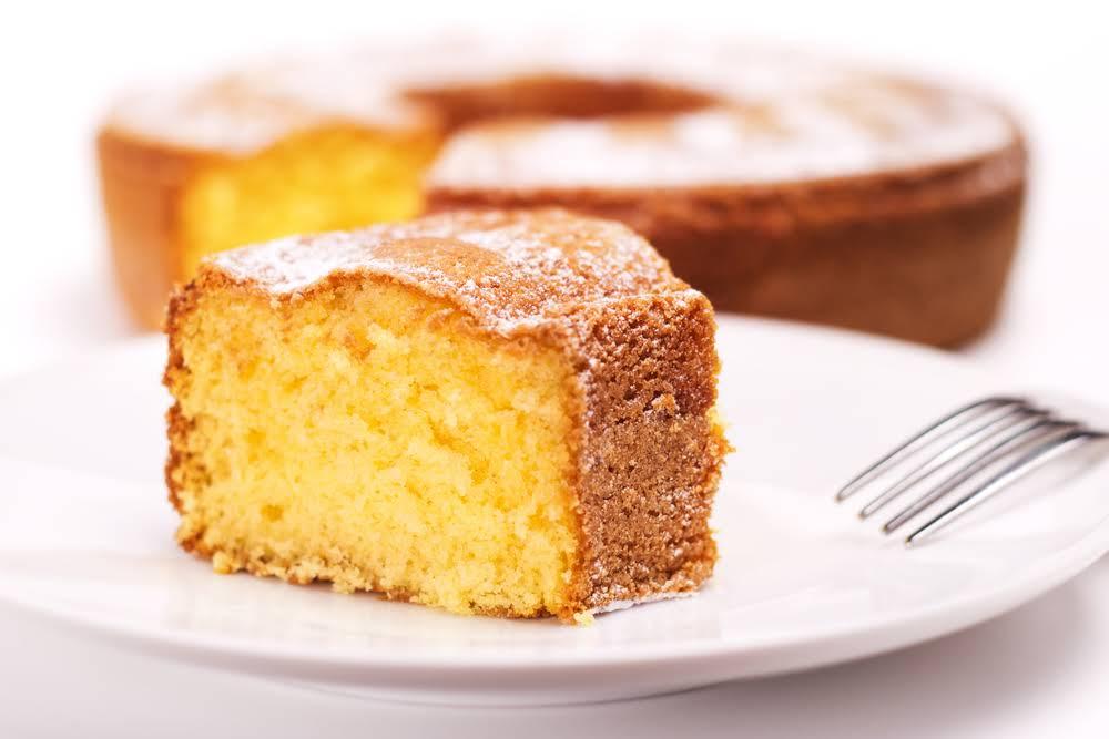 Rice Flour Orange Cake