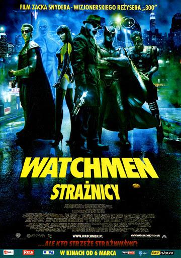 Przód ulotki filmu 'Watchmen. Strażnicy'