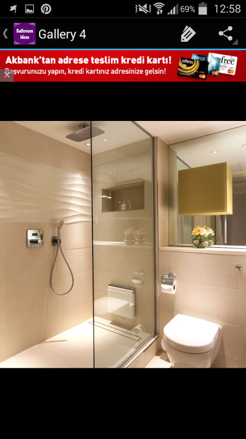 Bathroom ideas android apps on google play for Best bathroom finder app