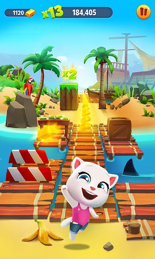 Talking Tom Gold Run  screenshots 2