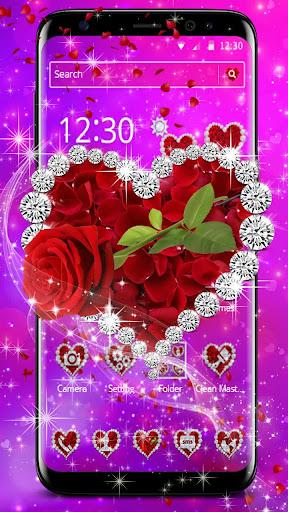 shiny rose diamond theme screenshot 2