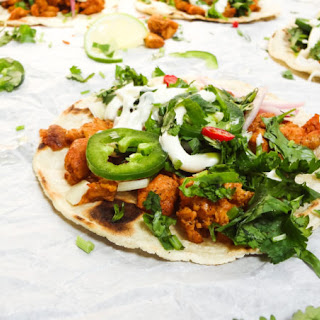 Mexican Street Style Chicken Tacos.