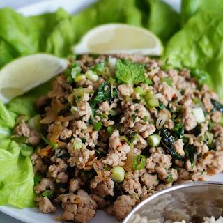 Spicy Thai Pork Mint Salad