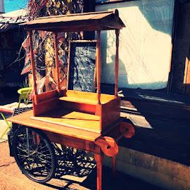 Cafe trolley  by Karen Beetge - Uncategorized All Uncategorized