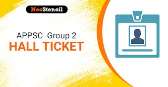 APPSC Group 2 Hall Ticket 2020