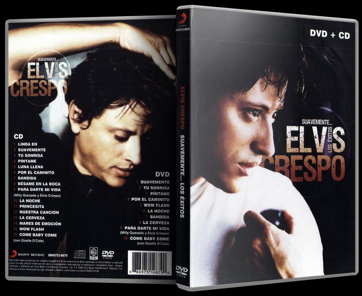Elvis Crespo - Suavemente... Los Éxitos (2008) [MP3 @320 Kbps]
