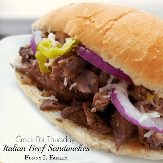 Crock Pot Italian Beef Sandwiches Recipe