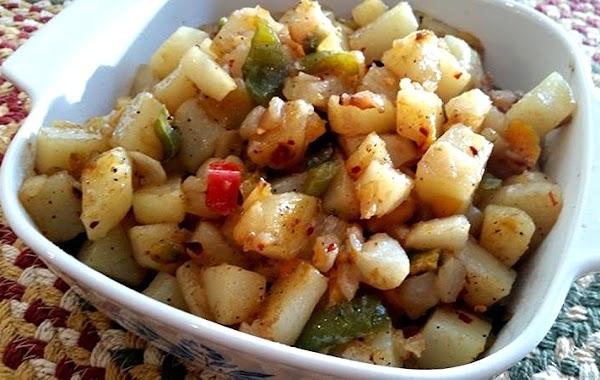~ Stir Fried O'brien Potatoes ~ My Way Recipe