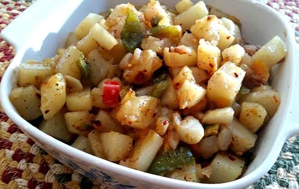 ~ Stir Fried O'brien Potatoes ~ My Way Recipe