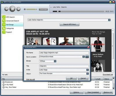 Download the latest version of MP3 free Downloader free in English on CCM -  CCM