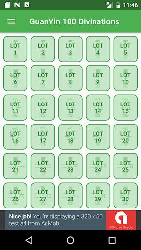 GuanYin 100 Divinations 1.4 screenshots 2