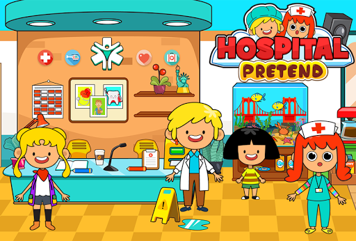 My Pretend Hospital - Kids Hospital Town Life 1.8 screenshots 2