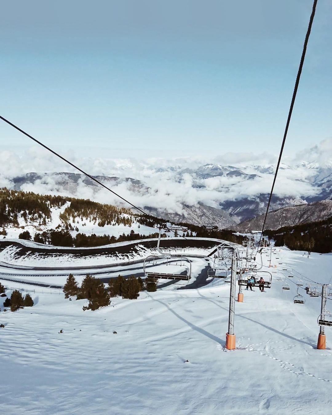 Estación de esquí Port Ainé