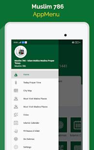 Download Muslim 786+ Islamic Prayer Times, Qibla Compass For PC Windows and Mac apk screenshot 10