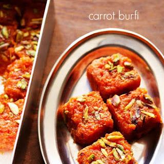 Carrot Burfi Recipe | Gajar Burfi