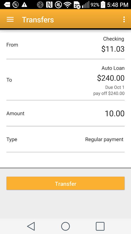 Altier Credit Union Mobile- screenshot