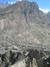 Photo: Point de vue 3800 m: Manang