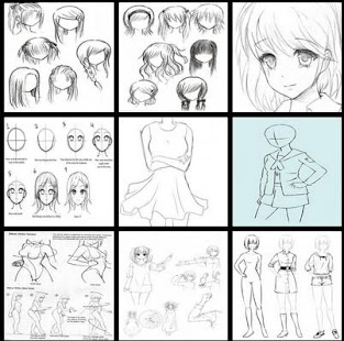 learn to draw manga dan anime - náhled
