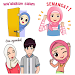 Hijab Muslimah Sticker Islamic - For WAStickerApps icon